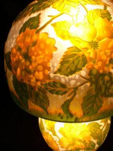 ガレ調ランプ